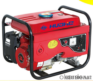 1000w Gasoline Hand Start Generator Copper Wire Generator
