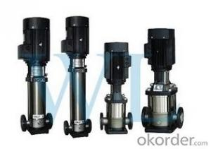 High pressure water pumps, multistage vertical turbine pumps
