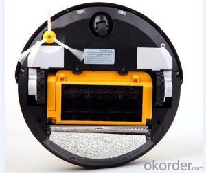 Robot Vacuum Cleaner with Robotic Intelligent Brain