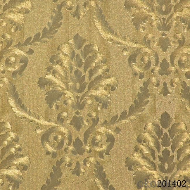 Buy metallic wallpaper hot selling bathroom vinyl for Selling wallpaper