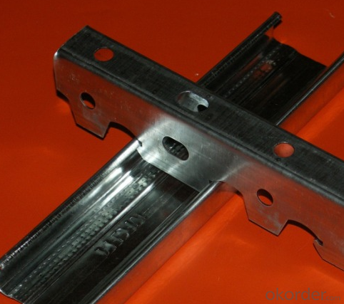 Stud Chinese Drywall Steel Channel  For  Drywall  Partitions