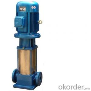 High pressure water pump, multistage vertical pumps with stainless steel