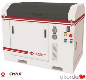 CNC Glass Cutting Machine Cool Cutting No Heat Will Be Produced