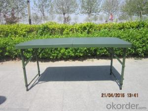 Outdoor Foldable Table, Adjustable Height and Multi-function