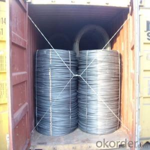 High Quality Hot Rolled Wire Rod SAE1008 SAE1006 SAE1018