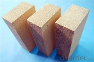 Bonded High Alumina Brick Refractory Phosphate Bonded