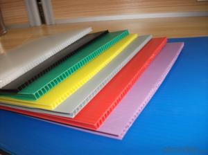 4'×8' Corrugated package sheet made of Polypropylene