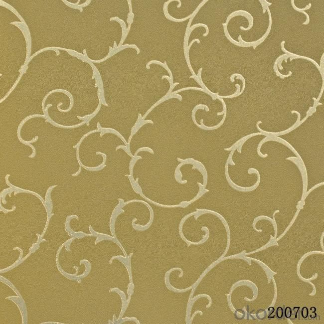 Metallic Wallpaper Office Decoration Fiberglass Wallpaper Made in China