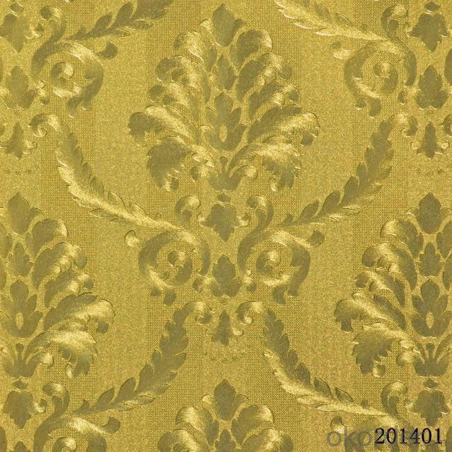 Metallic Wallpaper Home Decoration Luxury Murah Wallpaper