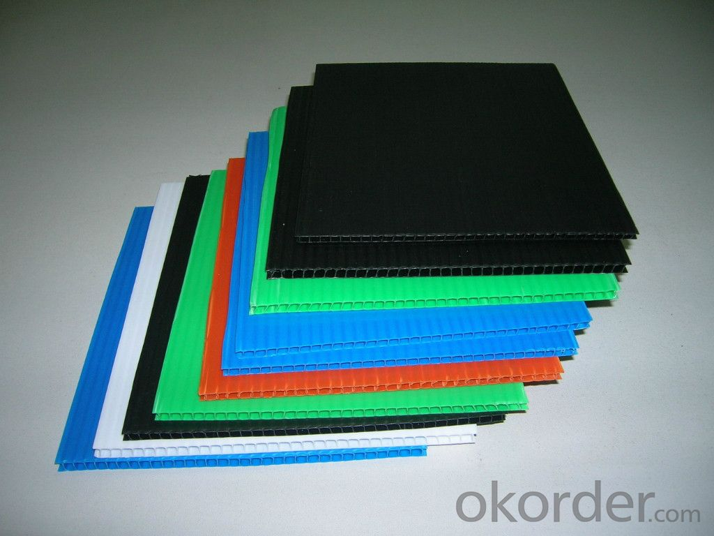 3mm Hollow Package Sheet Made of Polypropylene