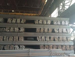 Hot Rolled Mild Heavy Steel Rials for Minas 50Mn, U71Mn Made in China