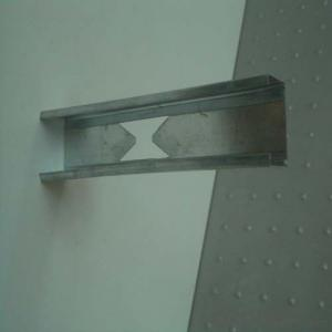 Galvanized  C Channel Metal  Stud Sizes for Drywall