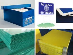 Plastic Corrugated Sheet made of virgin material