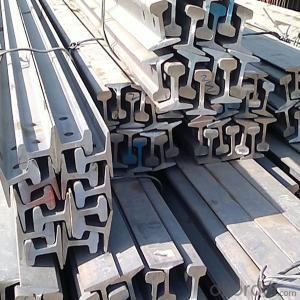 Hot Rolled Mild Light Steel Rail for Minas Q235,55Q Made in China