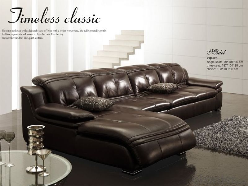 Leather Durable Sofa for Your Living Room