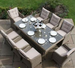 Outdoor Furniture Coffee Sets with 2 Seater for Patio CMAX-SS009CQT