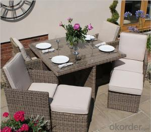 Ten Seater Dinning Set for Garden Patio Outdoor Furniture CMAX-SS005CQT