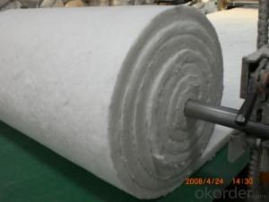 High Pure Ceramic Fiber Blanket with Heat Insualtion
