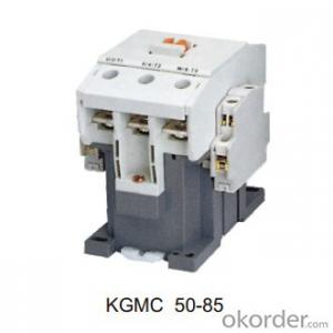 Three Phase KGMC OEM AC Coil Magnetic Electric Contactor