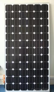 High Efficiency 295W Monocrystalline Solar Cell Price with 25 Year Warranty  CNBM