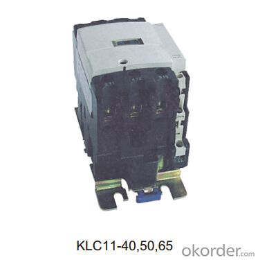 Three phase AC KLC11-09/12/18 OEM coil magnetic electric contactor