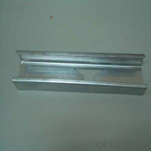 Metal Profile Stud Track For Drywall Partition