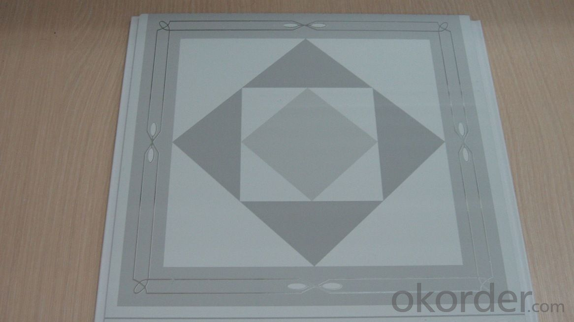 PVC Panels for Decoration, Foiled Designs
