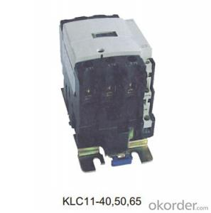 Three Phase KLC11-80/95/115/150 OEM AC Coil Magnetic Electric Contactor