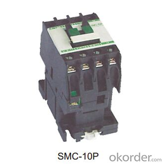 B Series Three Phase AC Coil Magnetic Electric Contactor