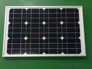Factory Sales 1.5W to 180W   Monocrystalline  Solar Panel CNBM