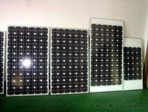 High Quality 1.5W to 180W   Monocrystalline  Solar Panel CNBM