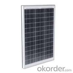 80W  Poly solar Panel Small Poly Solar Panel CNBM