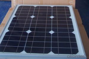 Small Monocrystalline  Solar Panel with Competitive Price CNBM