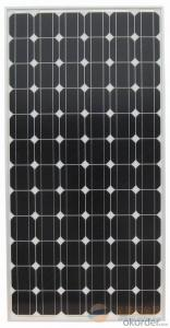 160W OEM Monocrystalline Silicon Solar Panels CNBM
