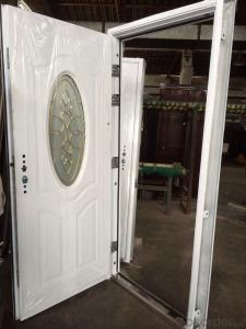 Hollow Metal Commercial Door Steel security door for home and building