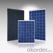 Factory Directly Sale Polycrystalline solar Panel with High Quality CNBM