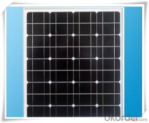 14W Mini   Monocrystalline  Solar Panel  CNBM