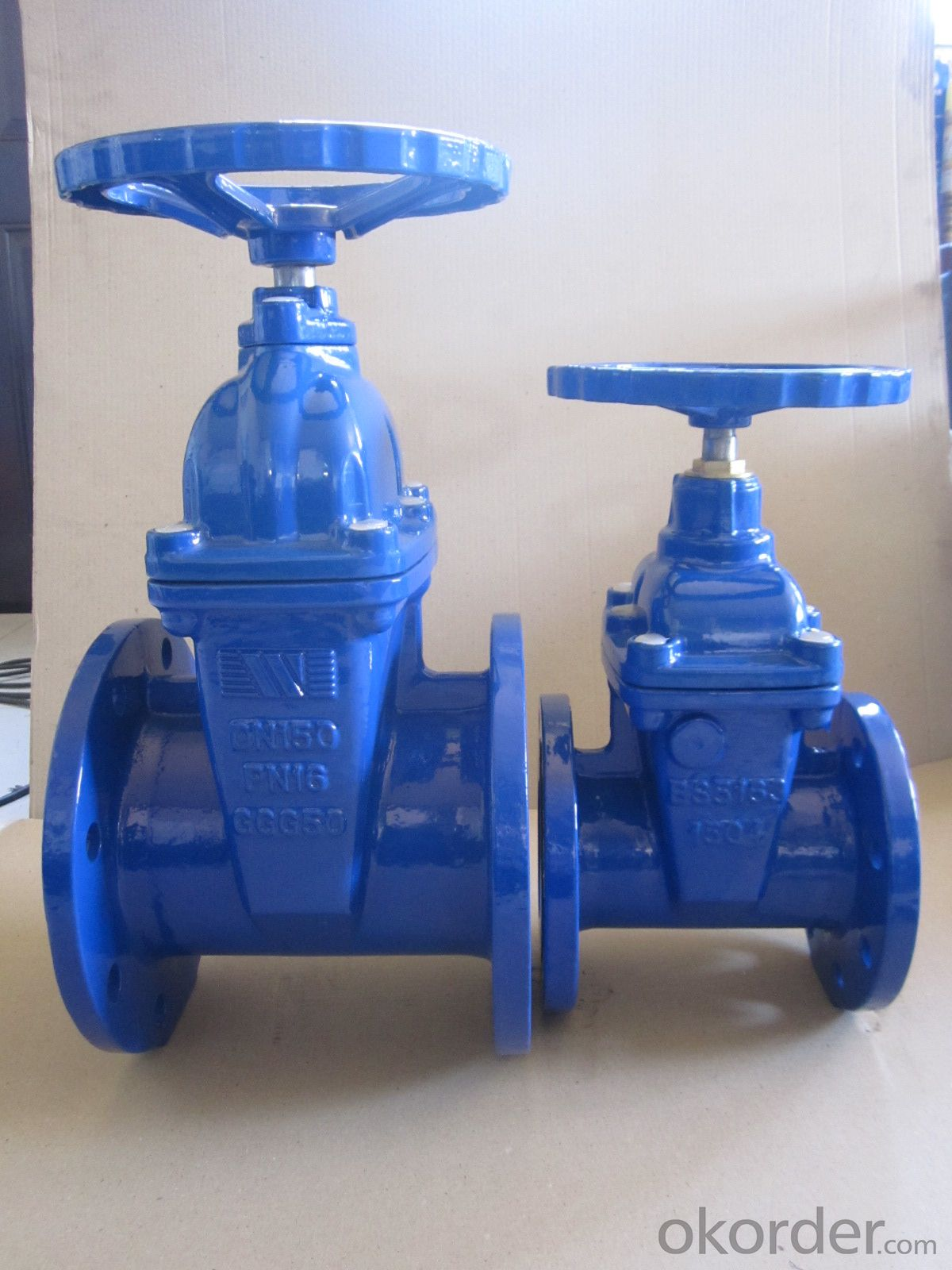 F4 Elastic seat sealed gate valve