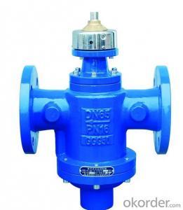 ASZK Self-operated flow control valve