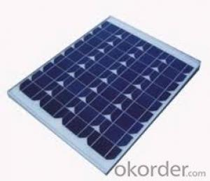 Hot Sale 165W Monocrystalline  Solar Panel with High Efficiency CNBM
