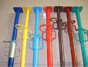metal scaffolding prop telescopic prop popularly used