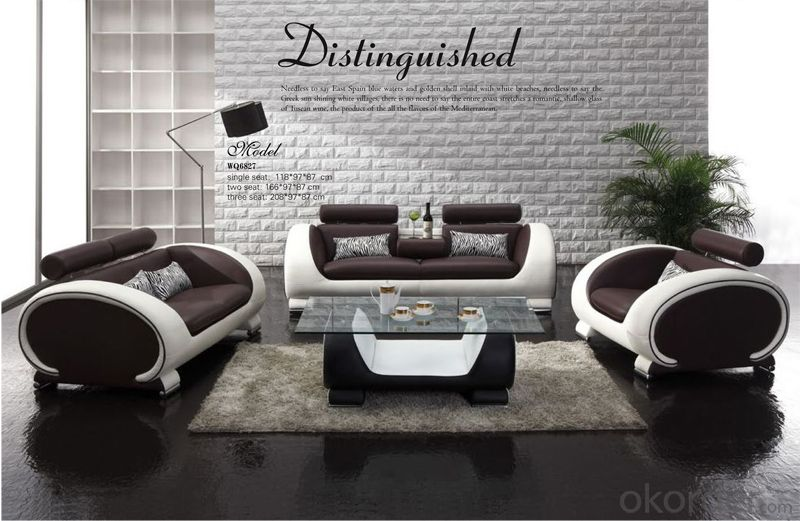 Best Quality Leather Sofa with Modern Design