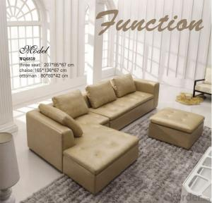Furniture Corner Leather Sofa Luxury Sofa