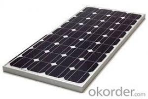 High Quality of 10W to 185W  Monocrystalline  Solar Panel  CNBM
