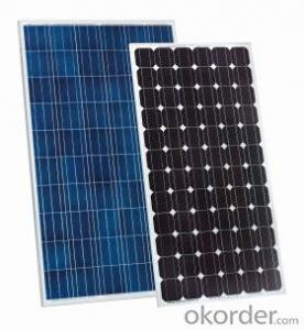 55W Monocrystalline  Solar Panel  with Competitive Price CNBM