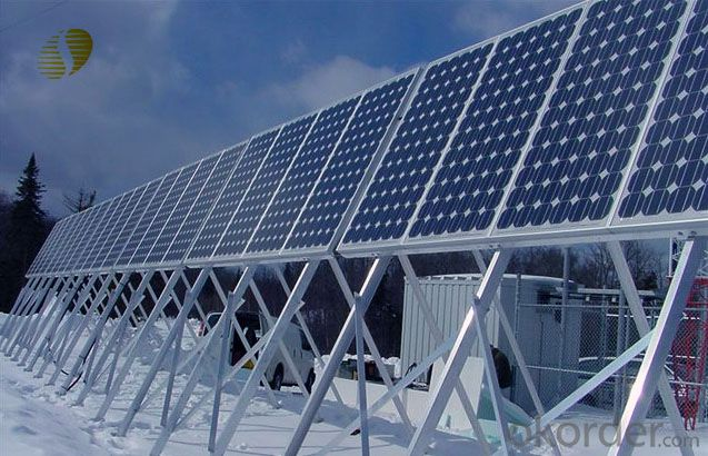 80W Mini   Monocrystalline  Solar Panel  CNBM