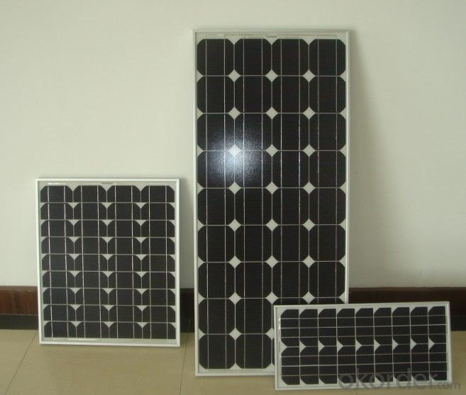 1.5W to 180W   Monocrystalline  Solar Panel with Lower Price CNBM