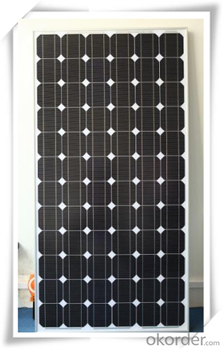 160W OEM Mono Sun Power Solar Panels CNBM