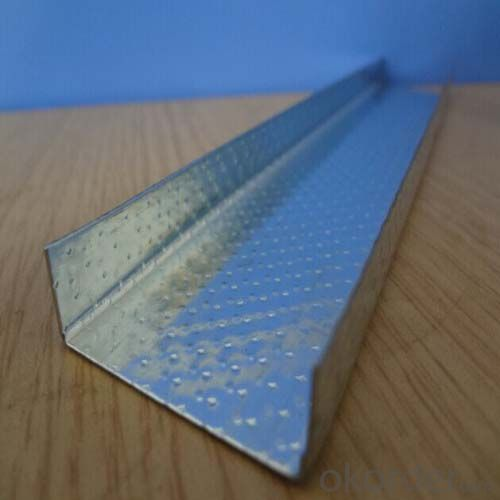 Drywall of Galvanized steel stud and track