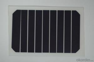 High Quality 3W to 5W Monocrystalline  Solar Panel CNBM